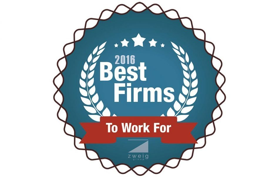 PES NAMED 2016 BEST FIRM TO WORK FOR