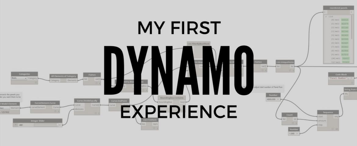 My First Dynamo Experience