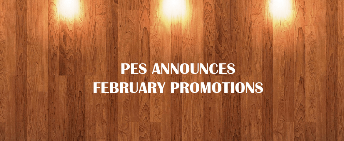 February 2017 Promotions